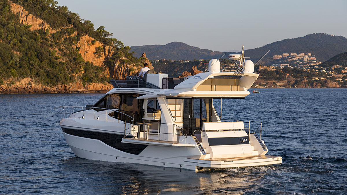 The next step - Galeon 460 Fly